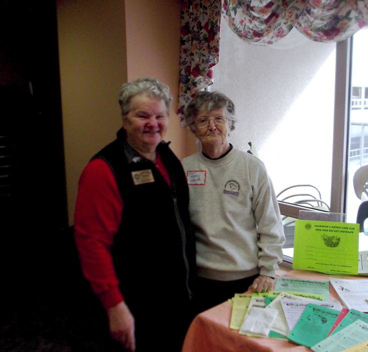 Lion Tina and Mary attended the Diabetic Seminar in Minden to represent the Good Food Box Program