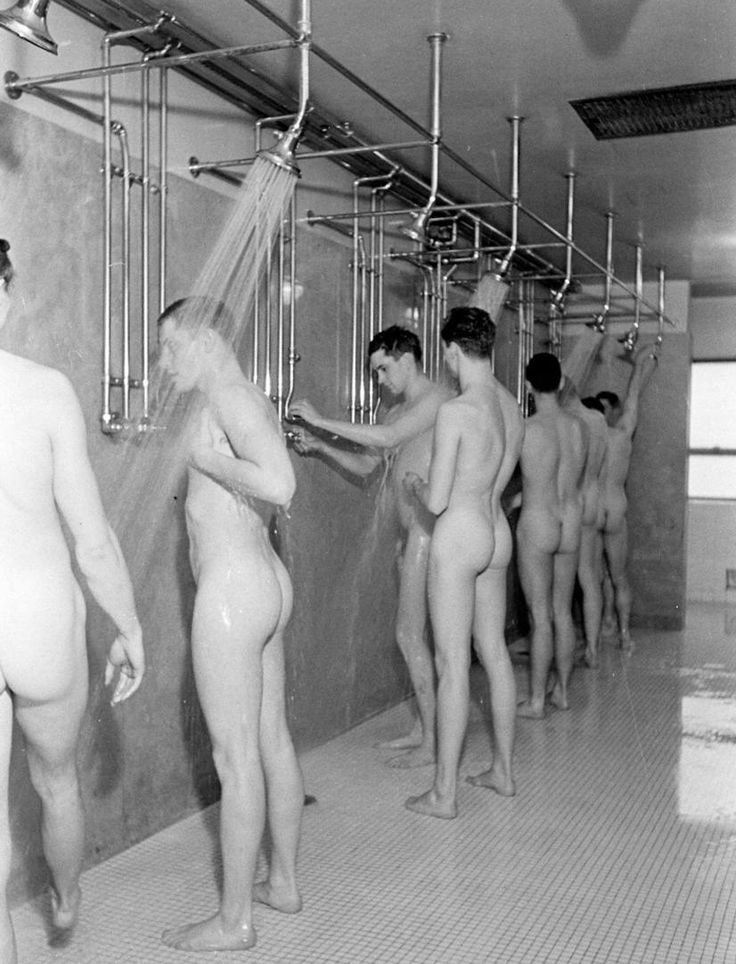 vintage male nudity showers at truck stops