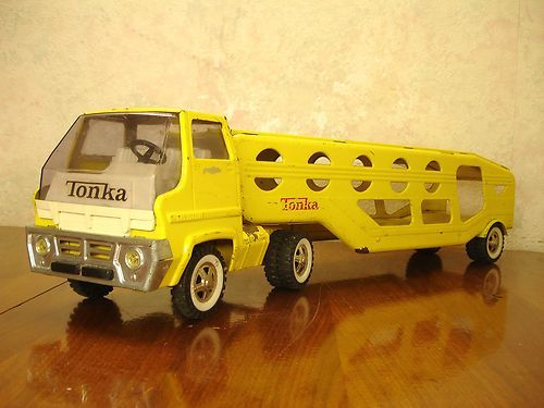 How to Tell the Age of a Tonka Truck