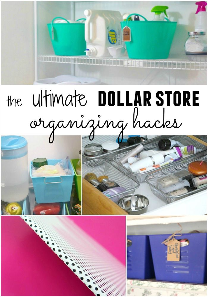 Brilliant Dollar Store Organizing Hacks for Every Room in