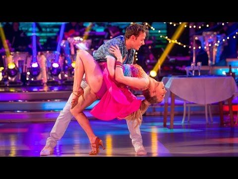 Kellie Bright and Kevin Clifton Salsa to 'I Want You Back' - Strictly Come Dancing: 2015 - YouTube