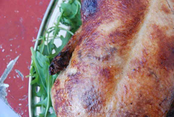 Canard aux Navets (Roast Duck with Glazed Turnips)