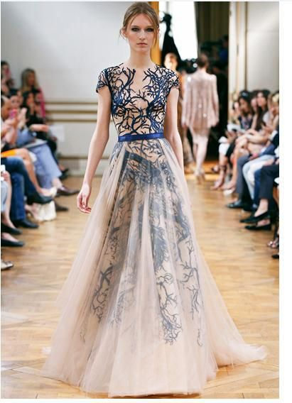 2014 European and American big genuine brand embroidered party evening promp gowns dress $118.00