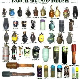 """Military Grenades Poster"" - and from the overkill department... ~;^)> Help…"