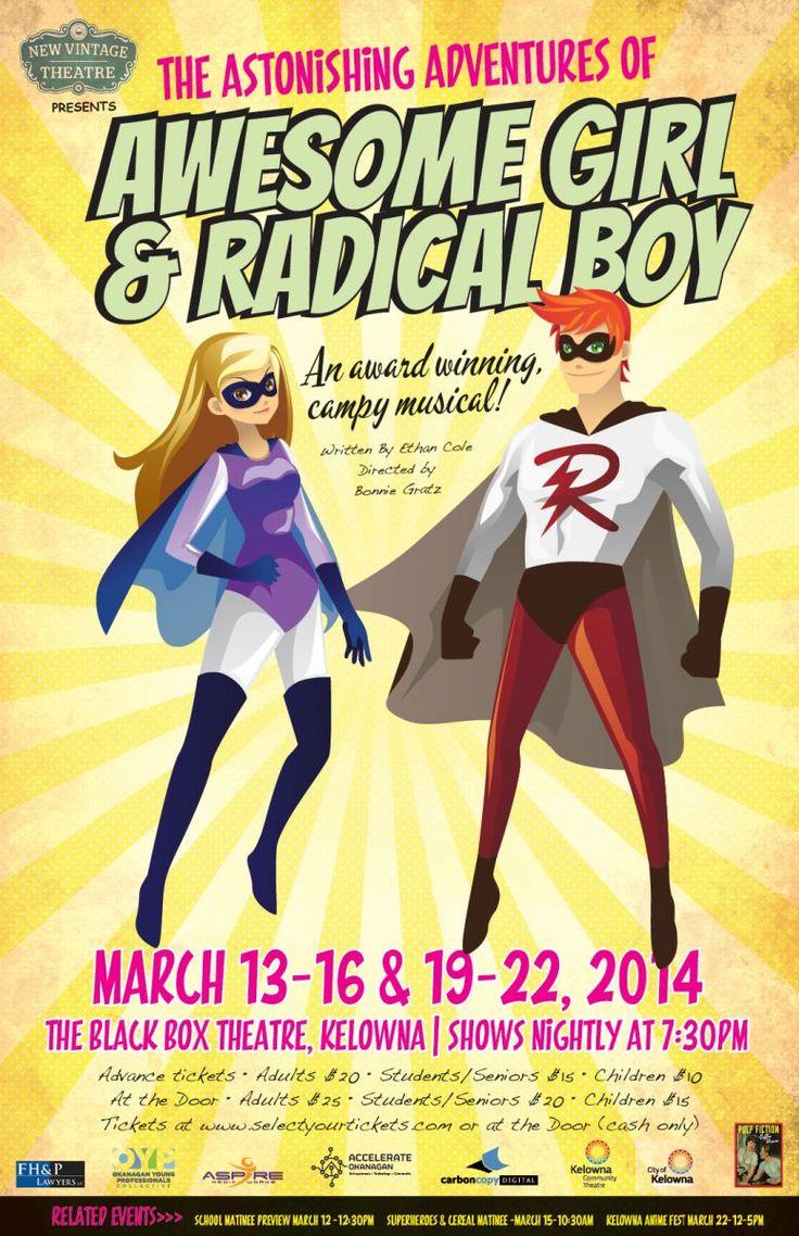 Look to the Sky! Superheroes Landing in Kelowna Next Week