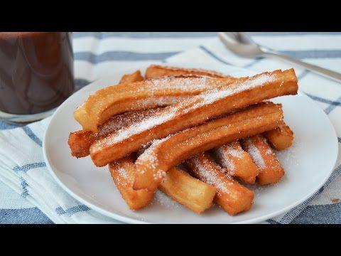 17 best images about youtube recetas on pinterest english torte and sweet potatoe pie - Como hacer churros en casa ...