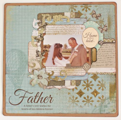 DIY Family Tree Scrapbook Album Kaisercraft Generations By Alicia McNamara