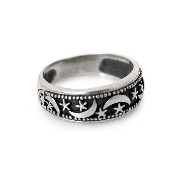 NOVICA Hand Made Sterling Silver Band Ring from Thailand ($47) ❤ liked on Polyvore featuring jewelry, rings, band, sterling silver, sterling silver rings, star jewelry, star ring, novica and sterling silver jewelry