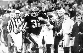 Any of us who saw the television coverage of the Immaculate Reception, Steelers vs. Raiders in 1972 Divisional playoff, will ever forget it. Or how we screamed & jumped up & down