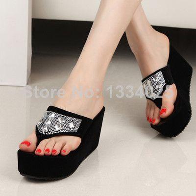 Лето Женская обувь Босоножки на платформе Вьетнамки Женщины US $9.00
