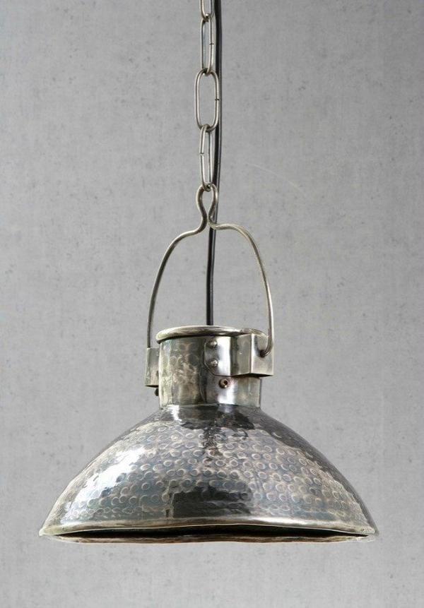 Ashton Antique Silver Pendant Light