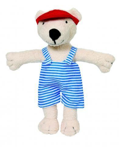 Aankleed BEER, met 7 kledingsets! | FysioToys