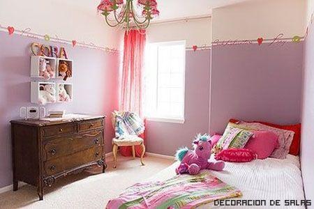 Decoracion Juvenil: Decorate With, Decor Rooms, Decoracion Juvenil, To Decorate, Kids Rooms Design, Purple Kids Rooms, Girls Rooms, Bedroom, Youth Room