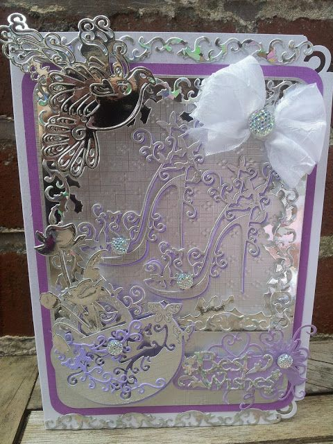 KINGDOM FOR CRAFTS: High heel shoe cards using Tattered Lace dies