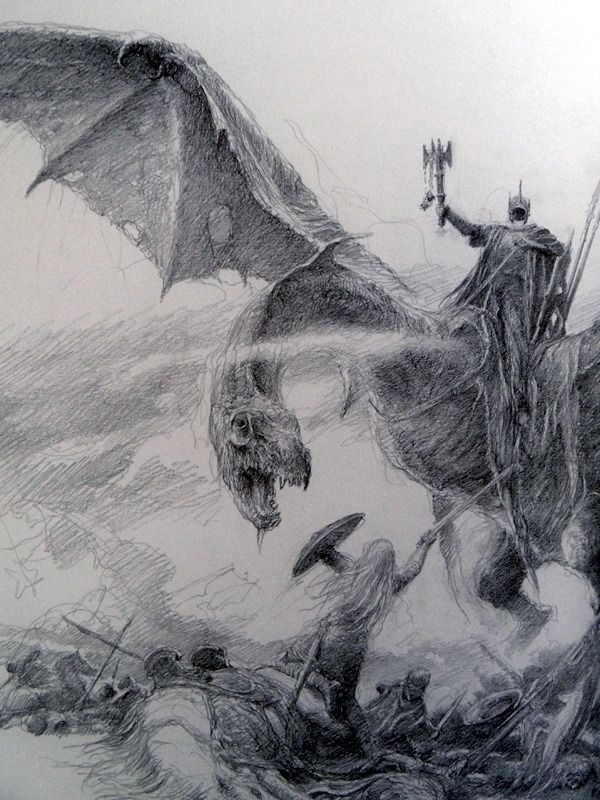 "chrommagia: "" The Lord of the Rings Sketchbook - by Alan Lee """