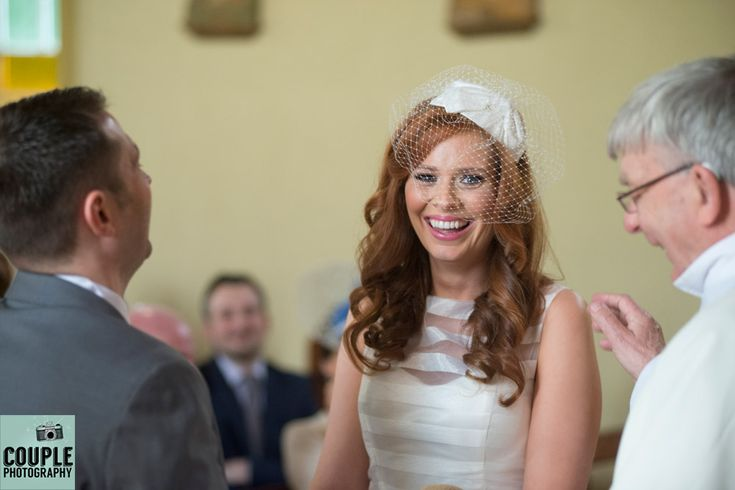 The wedding vows gave us all a giggle. Weddings at Kinnitty Castle photographed by Couple Photography.