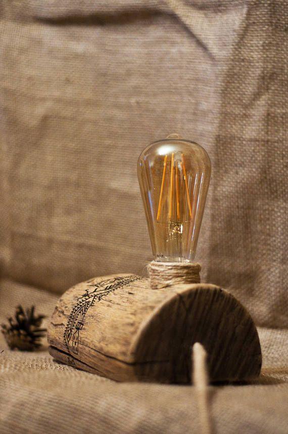 Registro lampada rustica lampada piccola scrivania lampada in