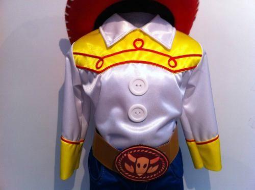 Disfraz Tipo Jessie Vaquerita Toy Story Jessy Con Sombrero ...