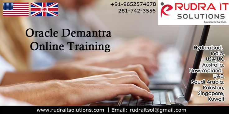 ORACLE  Demantra Demand Management Training Program   Rudra IT Solutions is one of the Promote leading IT Services and corporate training solutions along with Oracle Apps Demantra online Train…