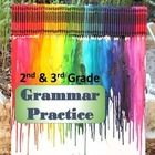 These are grammar practice printables targeted for second and third grades. Skills Included are: Punctuation Capitalization Who, What, When, Where,...