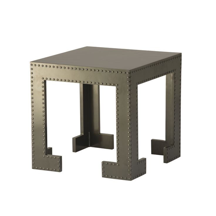 Buy Jacques Garcia Outdoor Chi Chi Side Table by McGuire Furniture - Quick Ship designer Furniture from Dering Hall's collection of Chinoiserie Contemporary Transitional Side & End Tables.