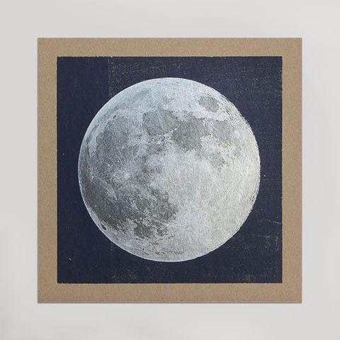Hammerpress silver moon