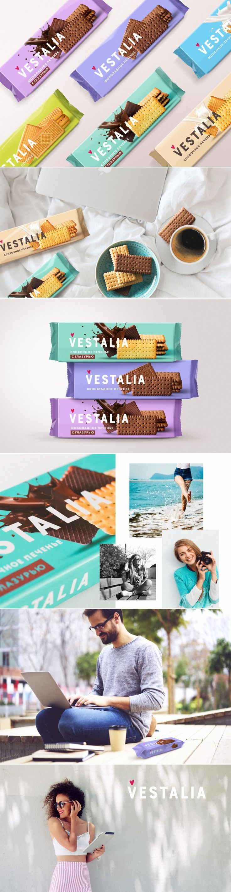 Vestalia Cookies Are Sure To Put You in a Good Mood — The Dieline | Packaging & Branding Design & Innovation News