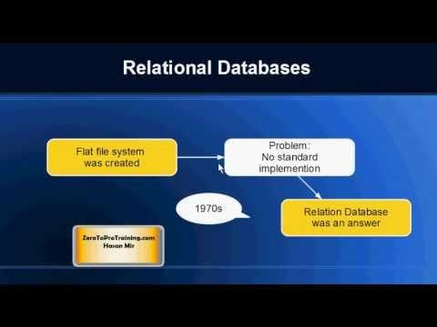 What is NoSQL Database? - This video explains what is NoSQL Database. Also you will learn the differences between NoSQL and Relational databases