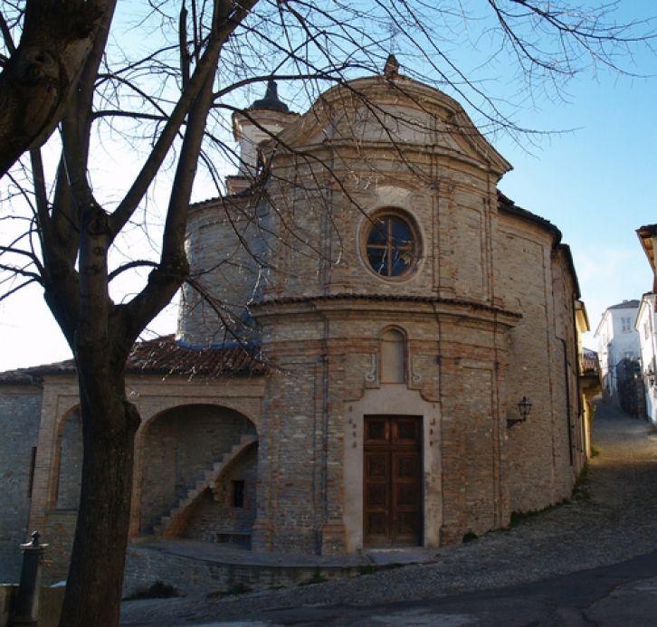 An ancient little town in Asti & Moscato wine zone, Villanuova. Piemonte, Italy