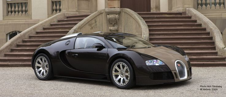 The Bugatti Veyron FBG interior styling by Hermes. Divine!