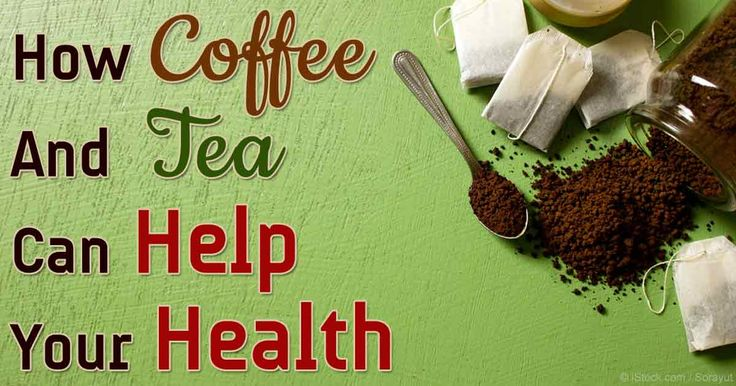 Black Coffee in the Morning and Green Tea in the Afternoon May Provide Valuable Health Benefits