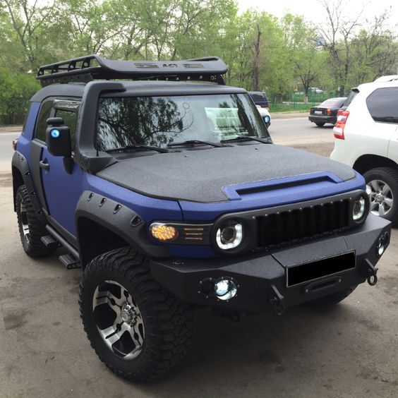 Image result for Toyota FJ Cruiser 2007-2014 Snorkel Kit Lenzdesign Performance with supercharger