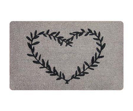 Heart Wreath Designer Door Mat