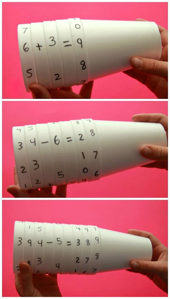 Great DIY math game for kids