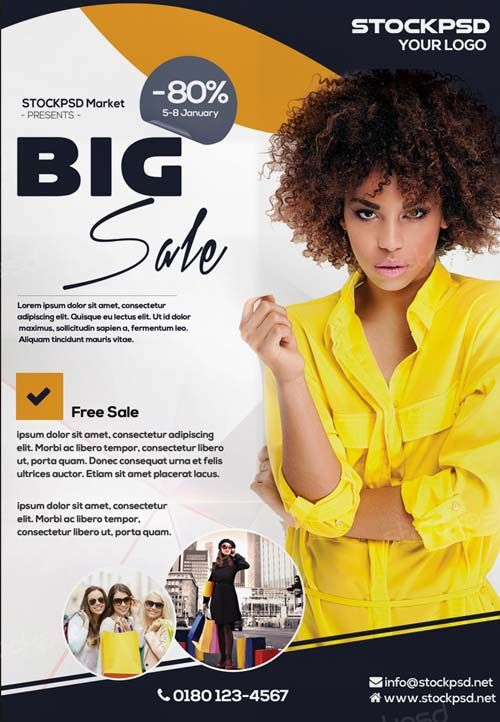 Big Sale E-Commerce Free PSD Flyer Template - http://freepsdflyer.com/big-sale-e-commerce-free-psd-flyer-template/ Enjoy downloading the Big Sale E-Commerce Free PSD Flyer Template created by Stockpsd!   #Business, #Club, #Corporate, #Dance, #Dj, #Elegant, #Event, #Models, #Party, #Photography, #Photos, #Service, #Showcase, #Wellness