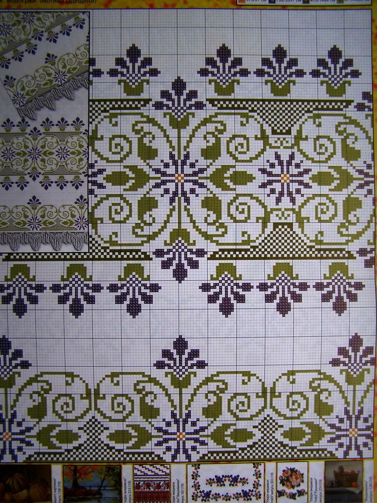 Cross stitch Pattern Ukrainian Flowers Embroidery Vyshyvanka Wedding Rushnyk 9 r in Crafts, Needlecrafts & Yarn, Embroidery & Cross Stitch, Hand Embr Patterns & Magazines, Cross Stitch Patterns | eBay