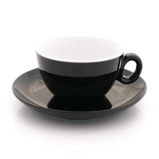 Inker black latte cup 9 oz demitasse