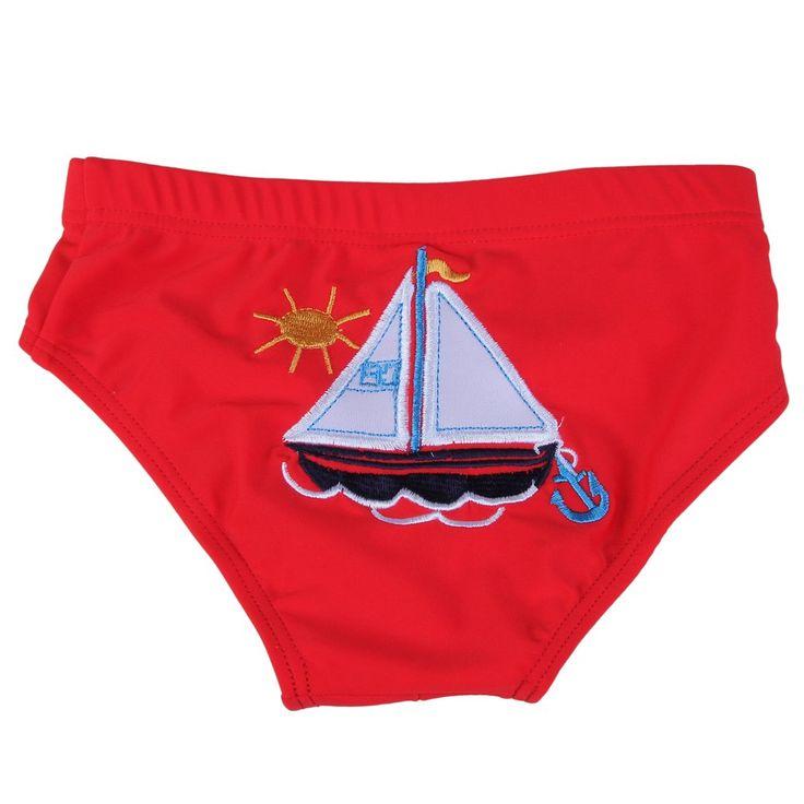 YueLian Kids Babies Swim Trunks Boys Swimwear Briefs Board Bathing Shorts Pants (Size S, Red). Shipment from China. Size S: Waist: 15.6''-18.8''. Size M: Waist: 16.8''-20.7''. Size L: Waist: 18''-21.9''. Package: 1 Swim Trunk.