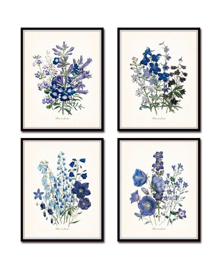 Fleurs de Jardin Floral Print Set No. 13 – Belle Maison Art