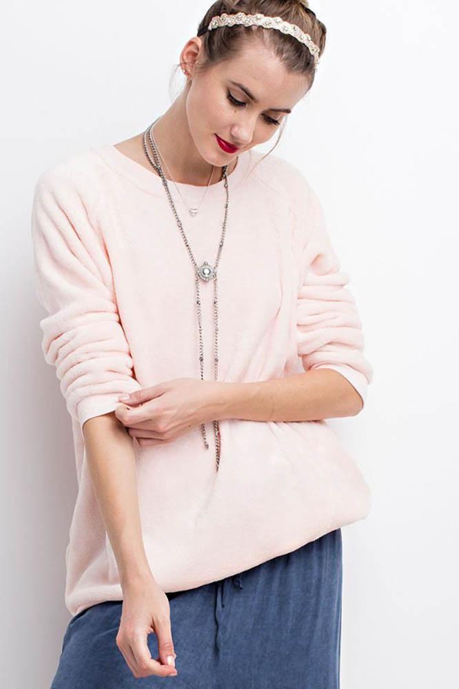 Fleece Pullover Tunic Top | Tops | Add to bag | Pinterest | Tunics ...