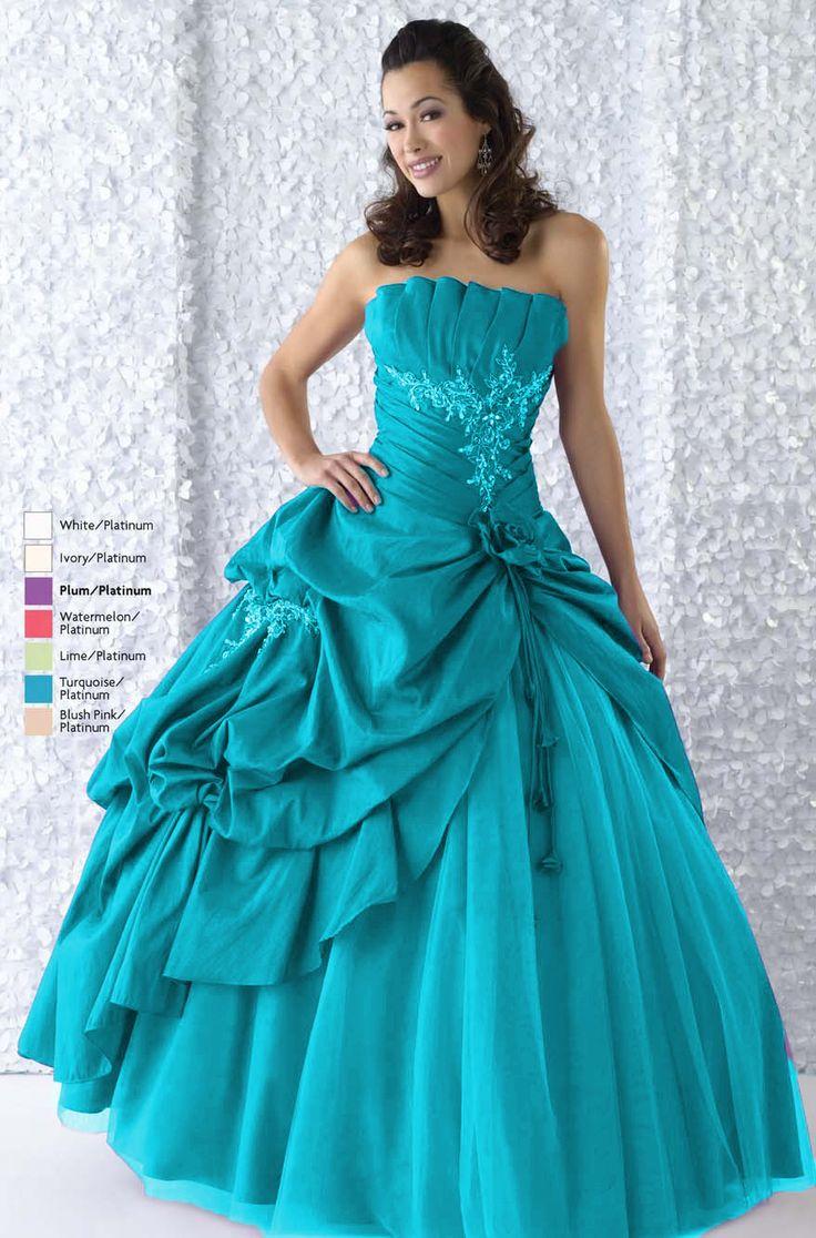 650 best vestidos de 15 años images on Pinterest | Formal prom ...