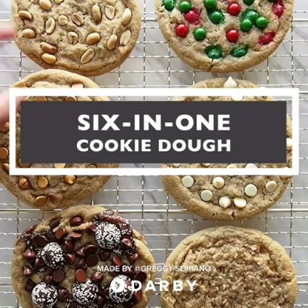 How to Make 6-n-1 Cookie Dough