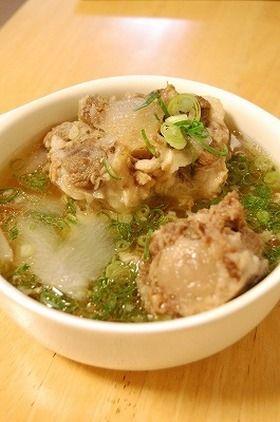 母直伝★大根入りとろとろテールスープ by momodon [クックパッド ...