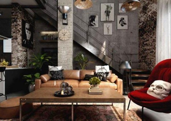 85 Friendly Warm Industrial Style House Ideas Industrial Style