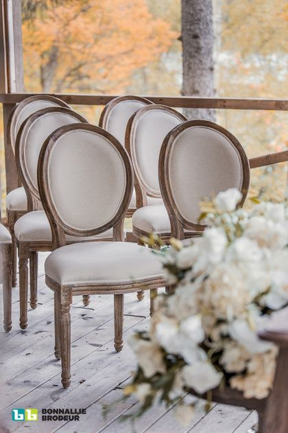 Joe's Prop House latest! The Reclaimed Dining Chair is a great wedding ceremony chair - comfortable and luxurious! Event Planner: Zeina Issa Event Planning and Design /// Photo credit: Bonnallie Brodeur Photography  /// Rentals & Decor: Joe's Prop House www.joesprophouse.com