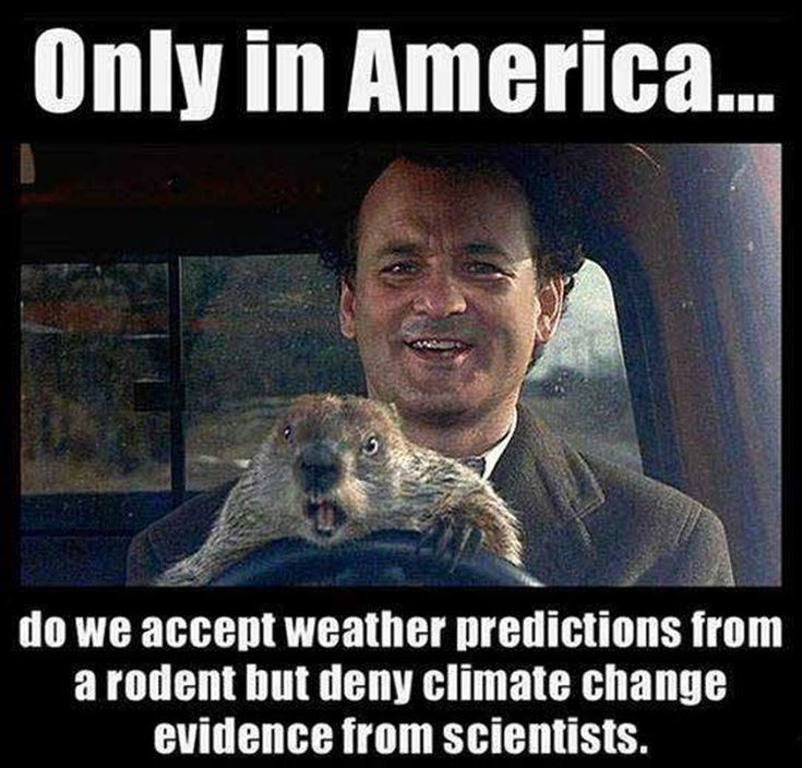 Climate Change Memes and Cartoons Everyone Should See: Groundhog Day and Climate Change