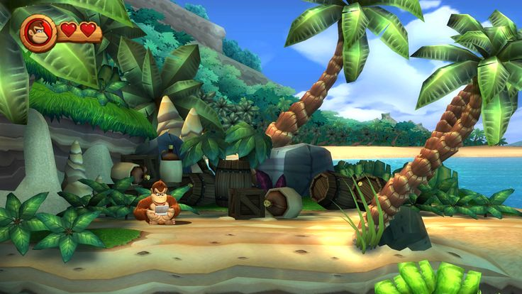 Video Game Donkey Kong Country Returns  Wallpaper