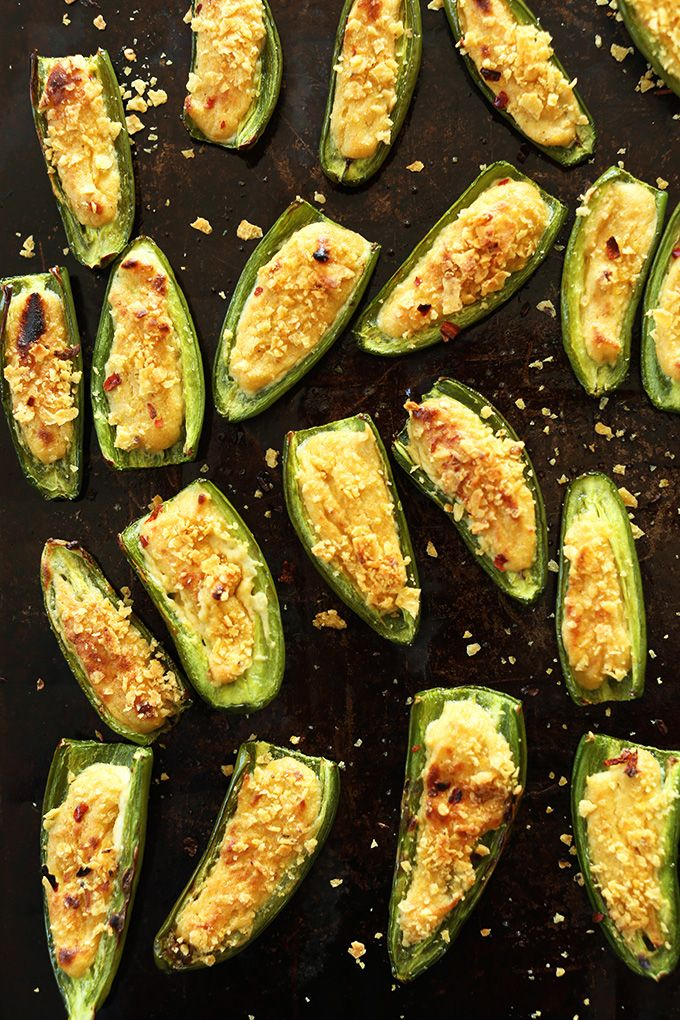 Simple, 30 minute Vegan Jalapeno Poppers! #vegan #glutenfree @Dana ...