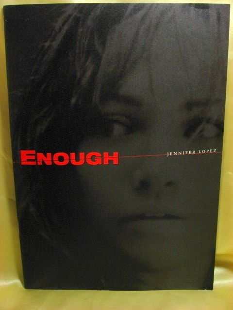 Movie Program Japan- ENOUGH /2003/ JENNIFER LOPEZ, BILLY CAMPBELL, TESSA ALLEN