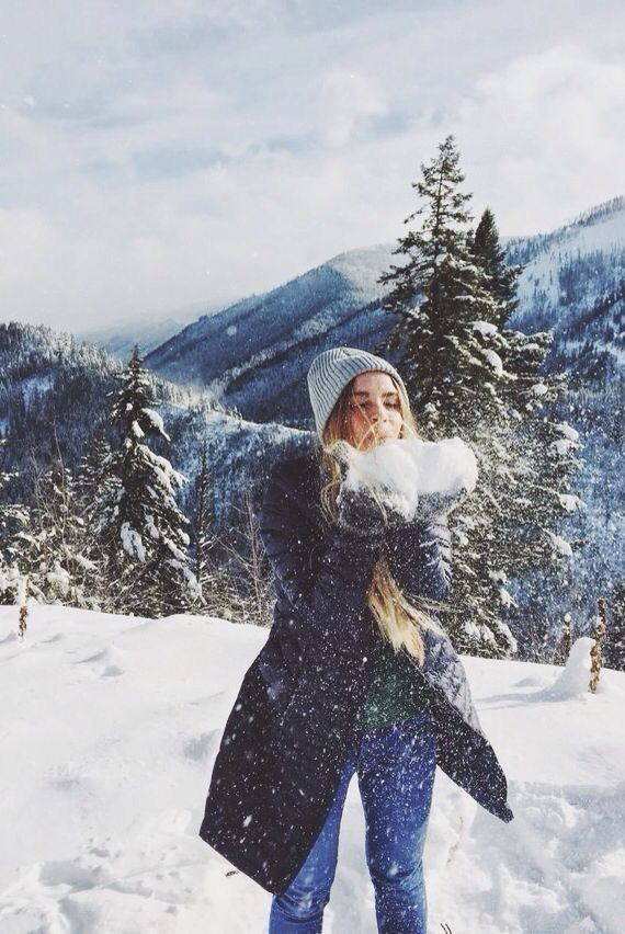 Image result for snow instagram girl